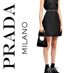 Prada Tessuto Black Nylon Shoulder Bag